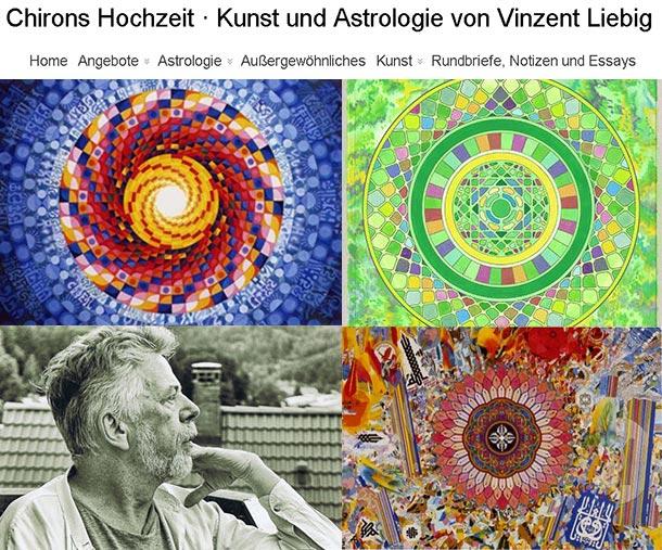 Chirons Hochzeit Kunst und Astrologie von Vinzent Liebig