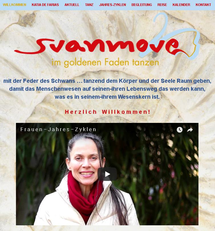 Svanmove Schamanischertanz Healingdance Katia de Farias
