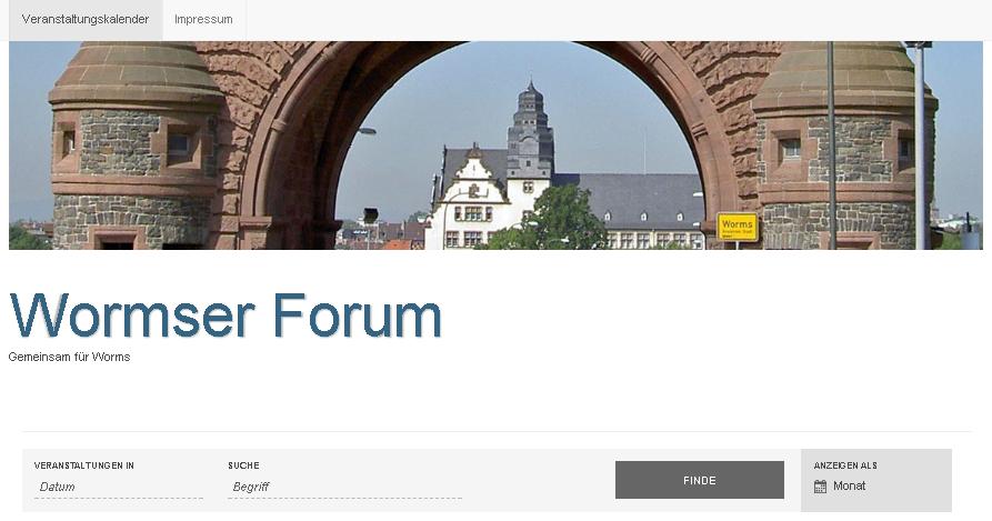 Wormser Forum